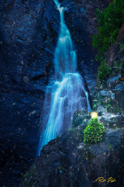 Photograph - Christmas At The High Falls by Rikk Flohr