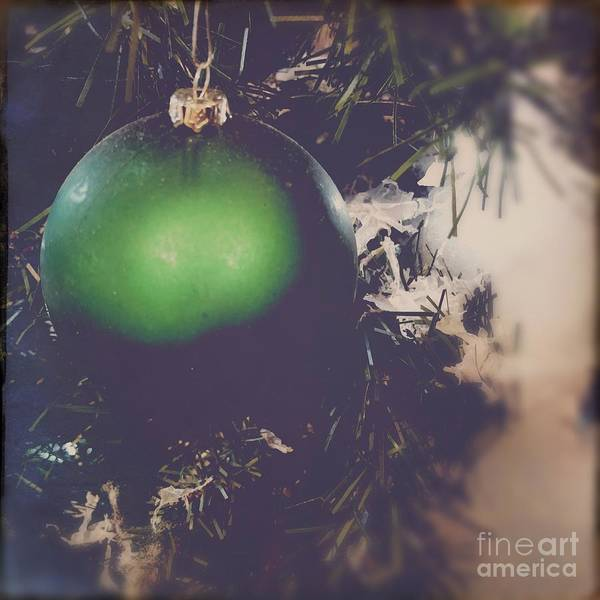 Photograph - Christmas Ball Square by Eleanor Abramson