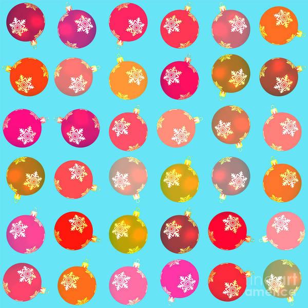 Bauble Digital Art - Christmas Baubles by Gaspar Avila