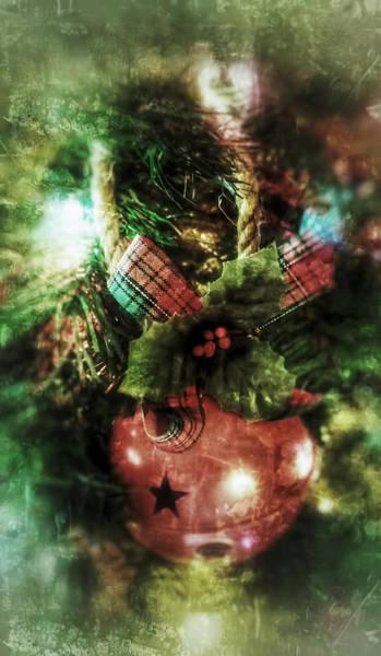 Mixed Media - Christmas Bell by Pamela Walton