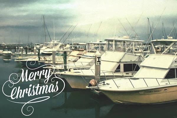 Photograph - Christmas Boats by Alice Gipson