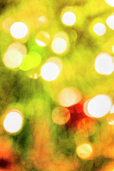 Photograph - Christmas Bokeh by Kay Brewer