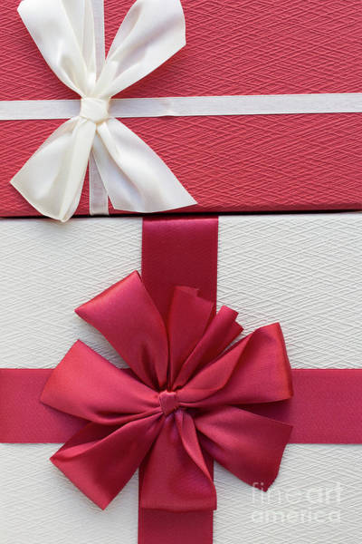 Gift Wrap Photograph - Christmas Boxes by Edward Fielding