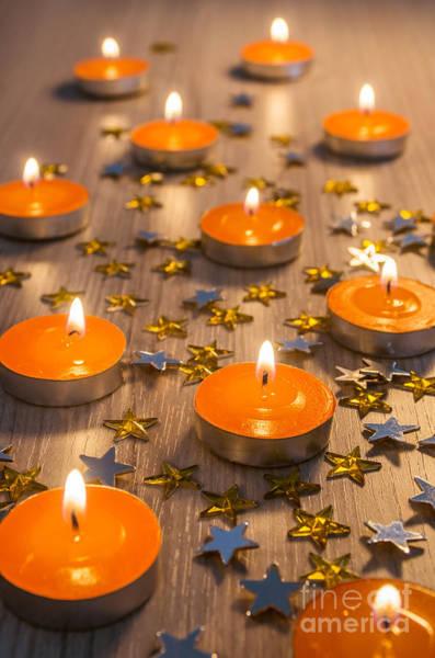 Wall Art - Photograph - Christmas Candles by Carlos Caetano