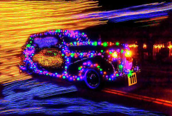 Wall Art - Photograph - Christmas Car by Garry Gay