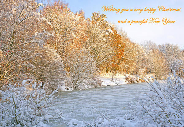 Photograph - Christmas Card 3 by David Birchall