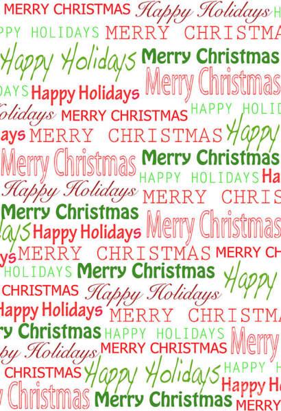 Wall Art - Digital Art - Christmas Cheer by Louisa Knight
