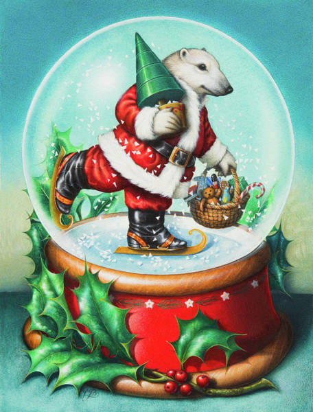 Painting - Christmas Cheer by Lynn Bywaters