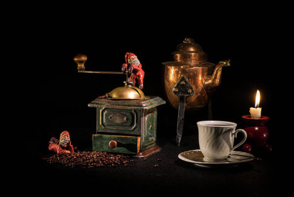 Photograph - Christmas Coffee-time by Torbjorn Swenelius