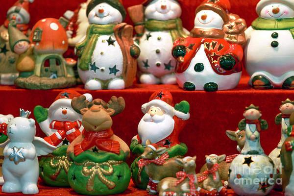 Photograph - Christmas Cookie Jars Vienna by John Rizzuto