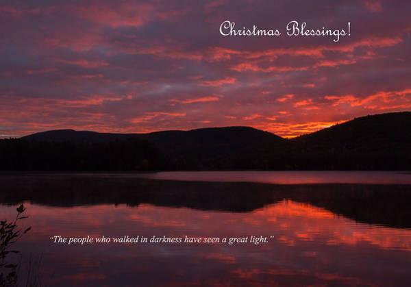 Photograph - Christmas Dawn by Nancy De Flon