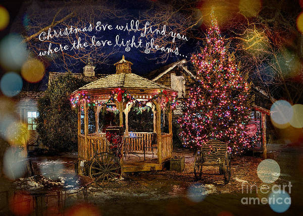 Digital Art - Christmas Eve Card 2016 by Kathryn Strick