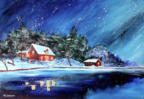 Painting - Christmas Eve by Phyllis London