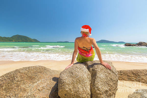 Photograph - Christmas Holidays On The Beach by Benny Marty