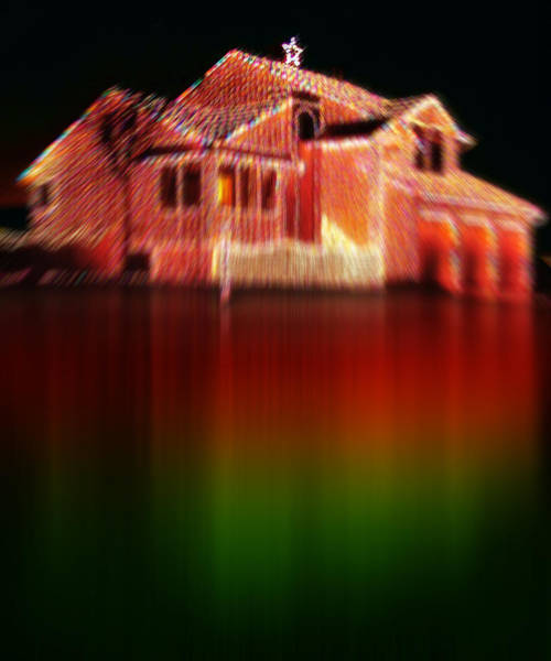 Christmas Season Wall Art - Photograph - Christmas House Of Lights 2 by Steve Ohlsen