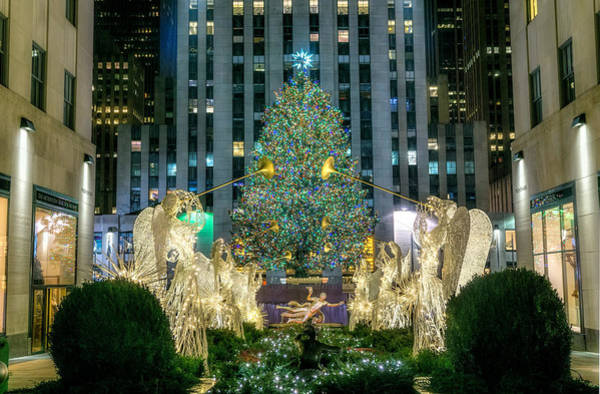 Wall Art - Photograph - Christmas In New York 2015 by June Marie Sobrito