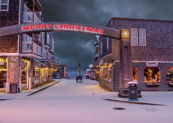 Photograph - Christmas In Nye Beach by Bill Posner