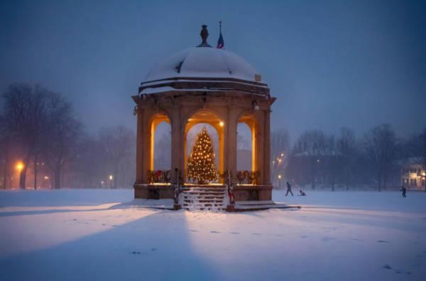 Photograph - Christmas In Salem Massachusetts by Jeff Folger