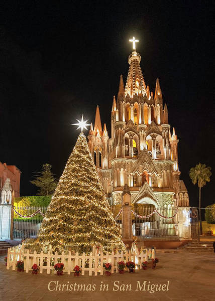 Photograph - Christmas In San Miguel by Barry Weiss