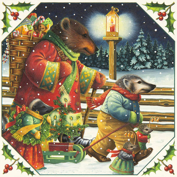 Painting - Christmas Journey by Lynn Bywaters