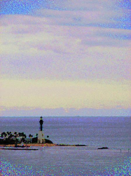 Photograph - Christmas Lighthouse by Corinne Carroll
