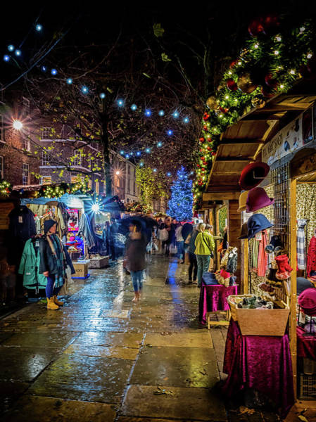 Photograph - Christmas Market by Nick Bywater