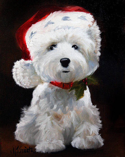 Wall Art - Painting - Christmas by Mary Sparrow