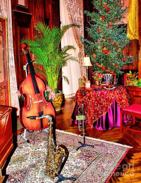 Photograph - Christmas Music Room by Nick Zelinsky