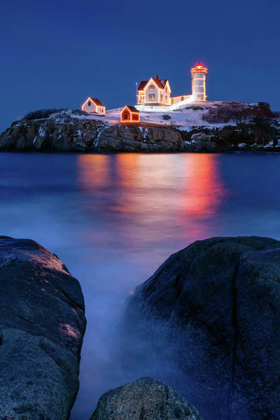 Photograph - Christmas On The Rocks by Michael Blanchette