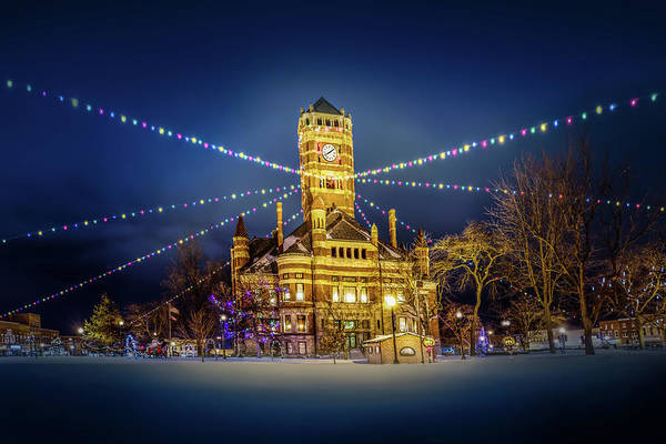Photograph - Christmas On The Square 2 by Michael Arend