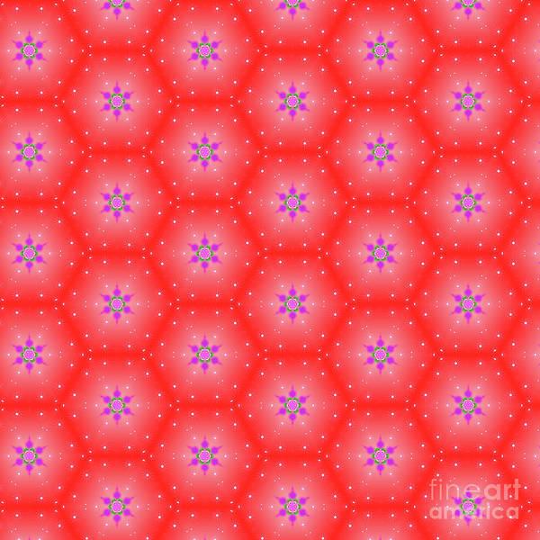 Digital Art - Christmas Pattern by Silvia Ganora