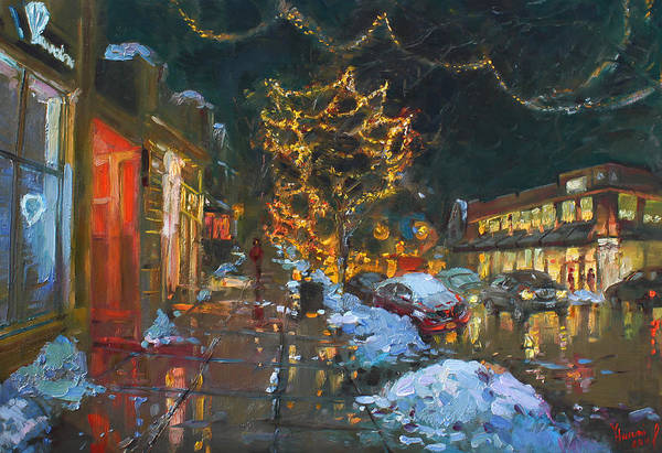 Jewelry Painting - Christmas Reflections by Ylli Haruni