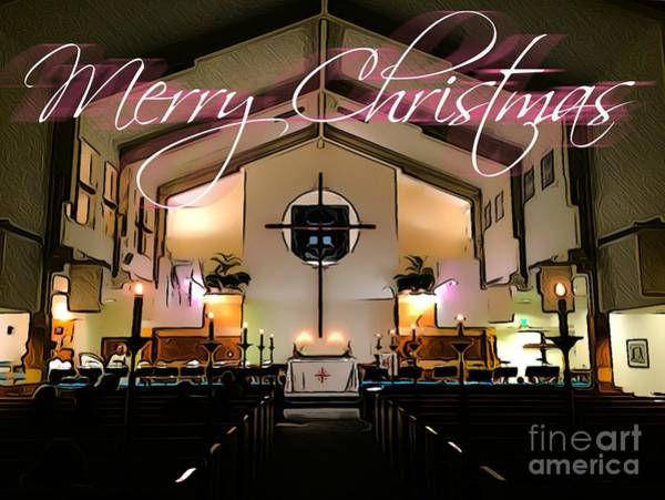 Photograph - Christmas Sanctuary by Jenny Revitz Soper