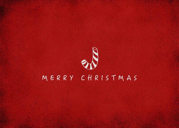 Christmas Digital Art - Christmas Series Christmas Stick by Kathleen Wong