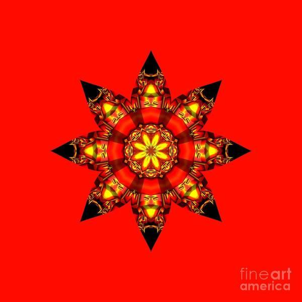 Digital Art - Christmas Star by Elaine Teague
