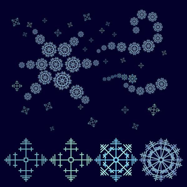 Icing Digital Art - Christmas Star by Lenka Rottova