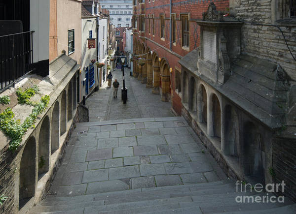 Photograph - Christmas Steps, Bristol by Colin Rayner