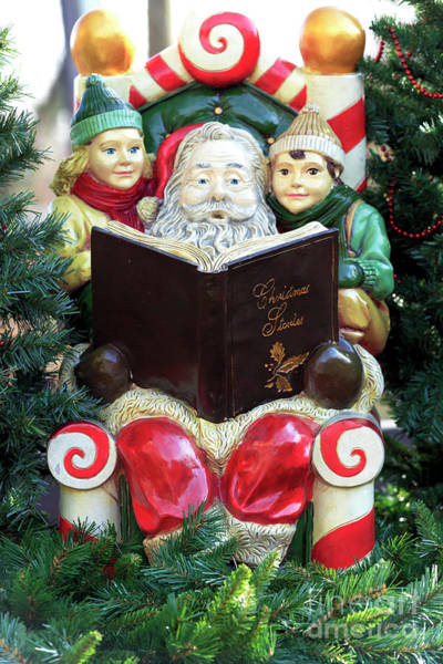 Photograph - Christmas Stories In New Hope by John Rizzuto