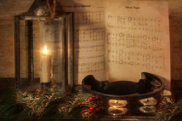 Photograph - Christmas Tambourine by Robin-Lee Vieira