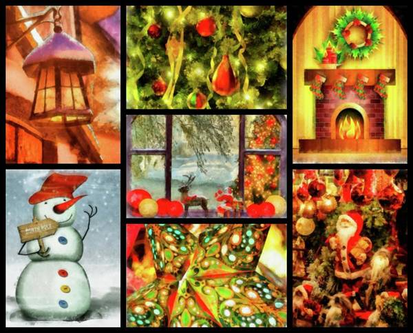 Wall Art - Painting - Christmas Time by Esoterica Art Agency