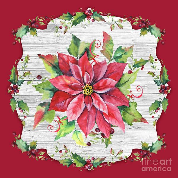 Wall Art - Painting - Christmas Treasures A by Jean Plout