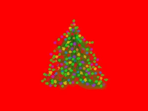 Digital Art - Christmas Tree by Cristina Stefan