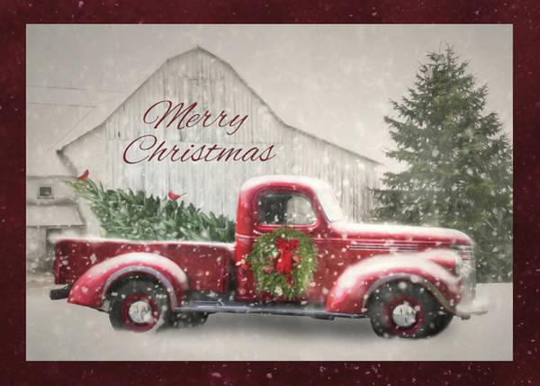 Wall Art - Photograph - Christmas Tree Shopping by Lori Deiter