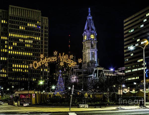 Photograph - Christmas Village - Philadelphia by Nick Zelinsky