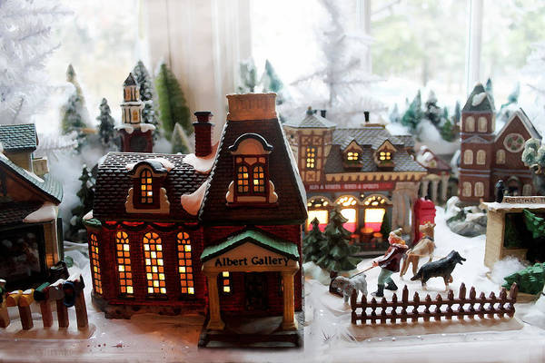 Photograph - Christmas Village by Susan Vineyard