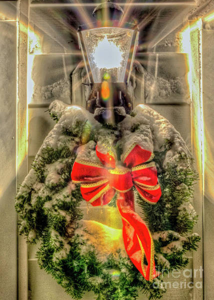 Photograph - Christmas Wreath I by Rod Best