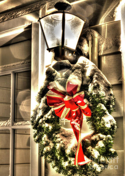 Photograph - Christmas Wreath II by Rod Best