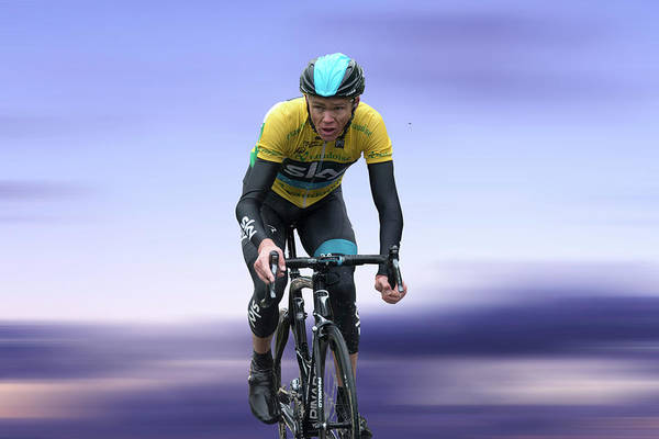 Wall Art - Photograph - Christopher Froome 3 by Smart Aviation