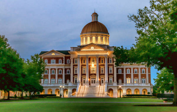 Photograph - Christopher Newport Hall An Exquisite Jewel by Ola Allen