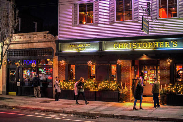 Photograph - Christopher's And The Toad Cambridge Ma Porter Square by Toby McGuire